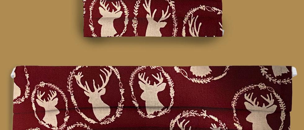 Red & White Deer