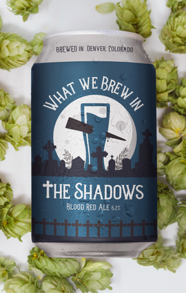 What We Brew In The Shadows Logo Design