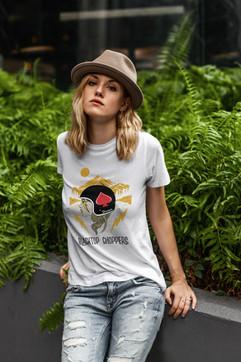 Black Top Choppers T-Shirt Design
