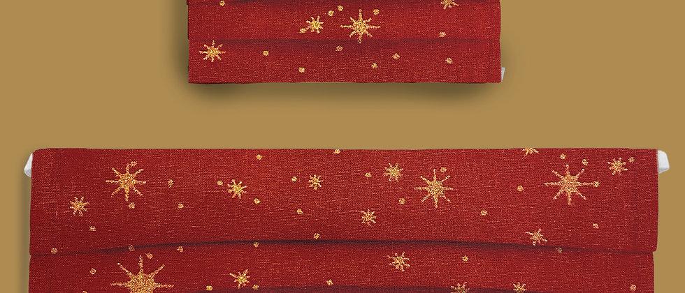 Red & Gold Stars