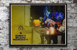 Women in Welding Photo shoot