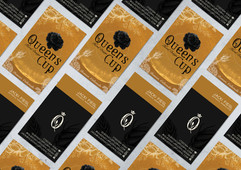 Queens Cup Business Card