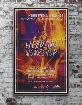 Welding Workshop Flyer