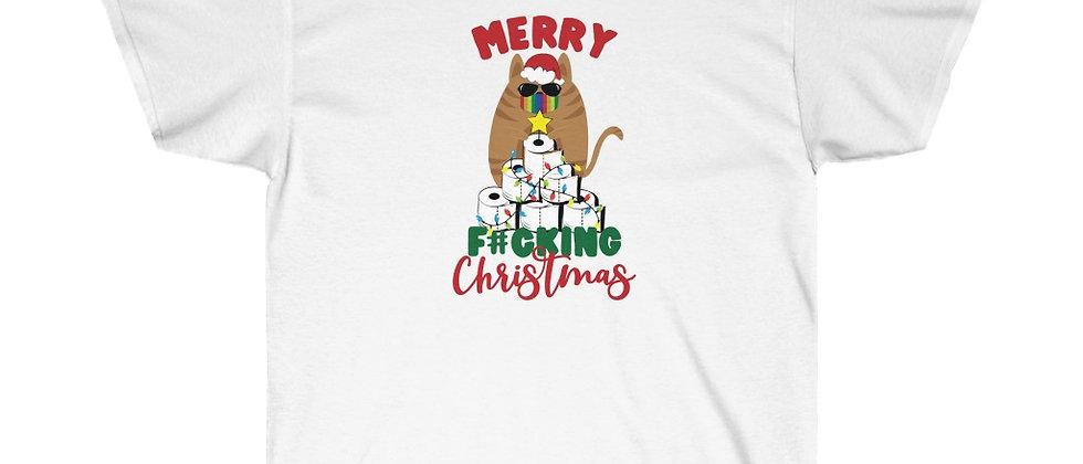 Merry F#ucking Christmas Unisex Ultra Cotton Tee