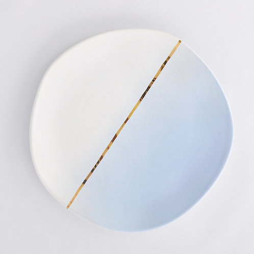 "Тарілка ""Сен-Тропе"" блакитна"