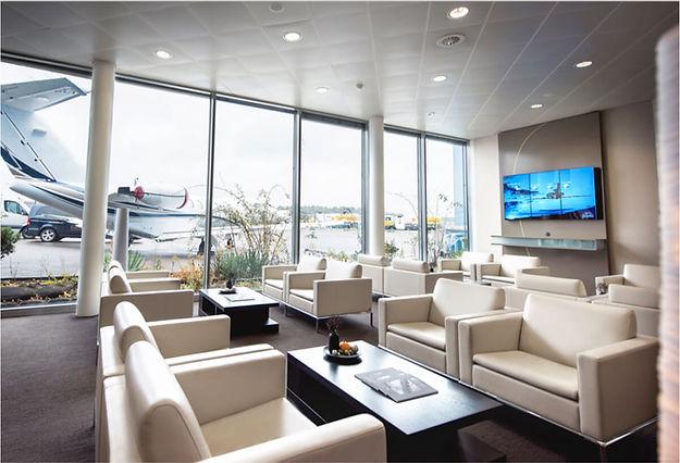 eagle aviations facility lobby