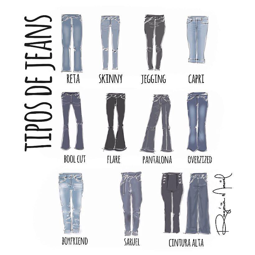 na hora de escolher o jeans da sua vida ...