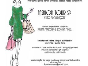 mais um Fashion Tour SP