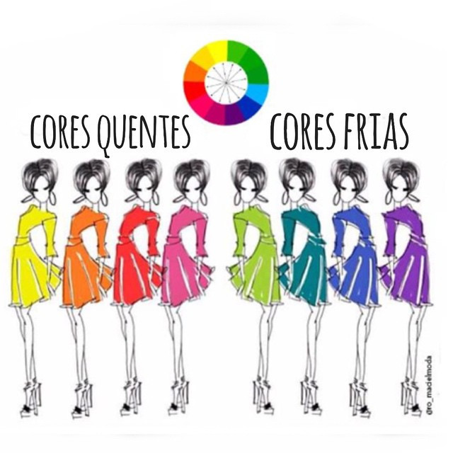 as cores que mais te favorecem ...