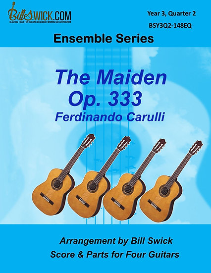 Advanced-The Maiden Op 333-Ferndinando Carulli