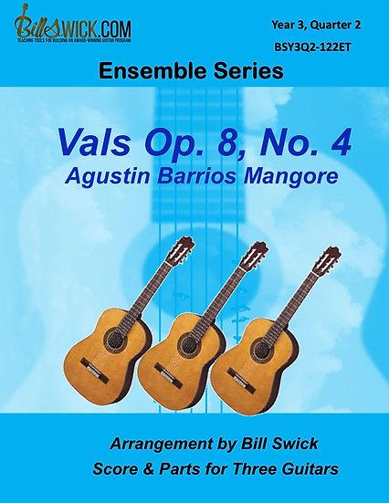 Vals Op. 8, No, 4-Agustin Barrios Mangore