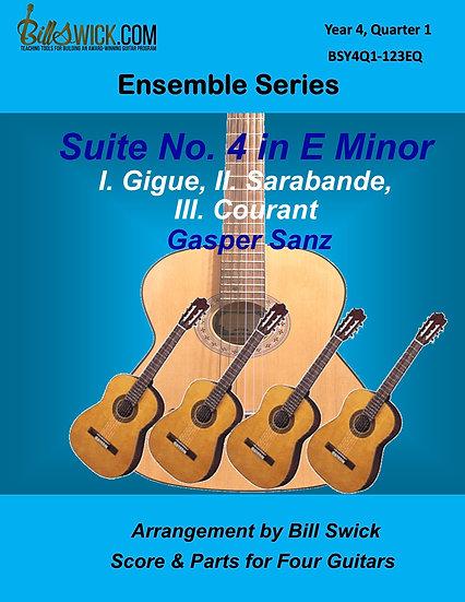 Advanced-Suite No. 4 in E Minor by George Friderick Handel