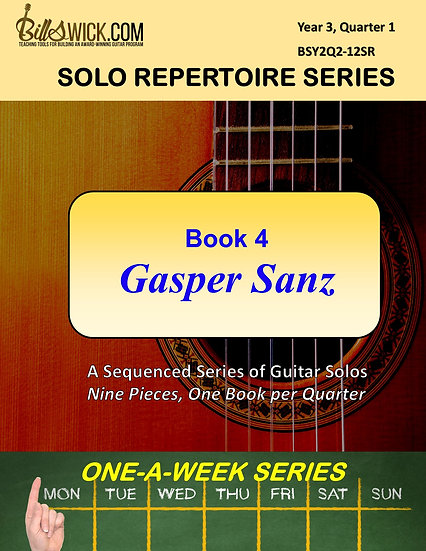 Solo Playing-Book Four-Gasper Sanz