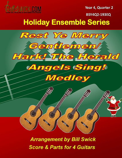 Rest Ye Merry Gentlemen/Hark! The Herald Angels Sing! Medley