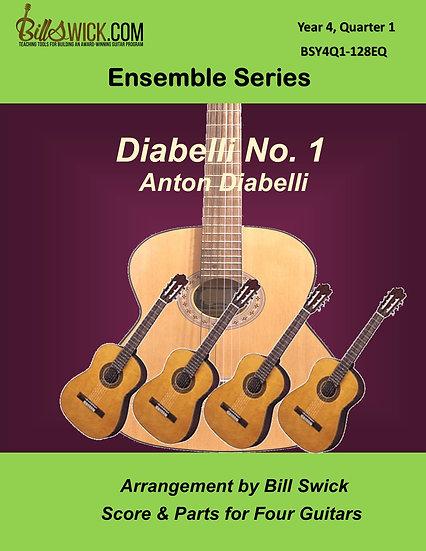 Advanced-Diabelli No. 1 by Anton Diabelli