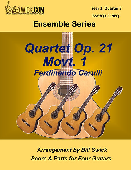 Advanced-Quartet Op. 21 Movt. 1 - Ferdinando Carulli