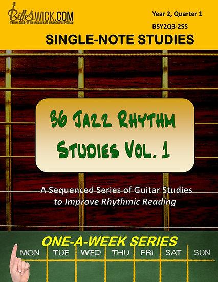 36 Jazz Studies Volume One