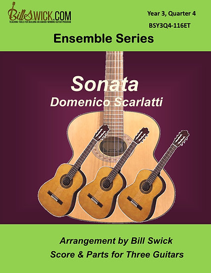 Advanced-Scarlatti Sonata by Domenico Scarlatti
