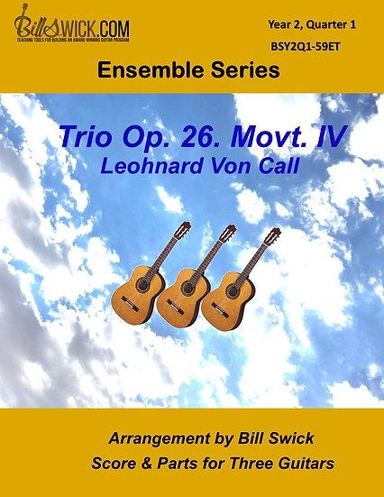 Intermediate-Rondo by Leohnard Von Call Movement IV