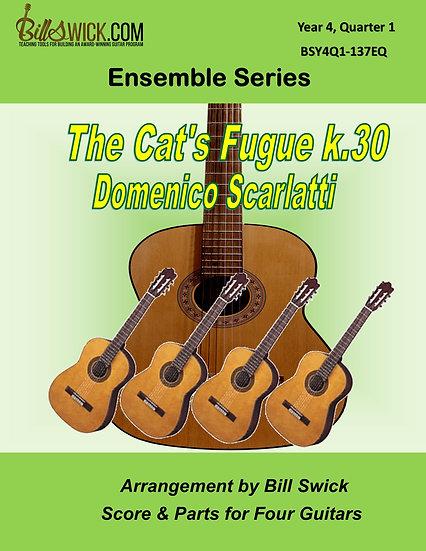 Advanced-The Cat's Fugue k.30-Domenico Scarlatti