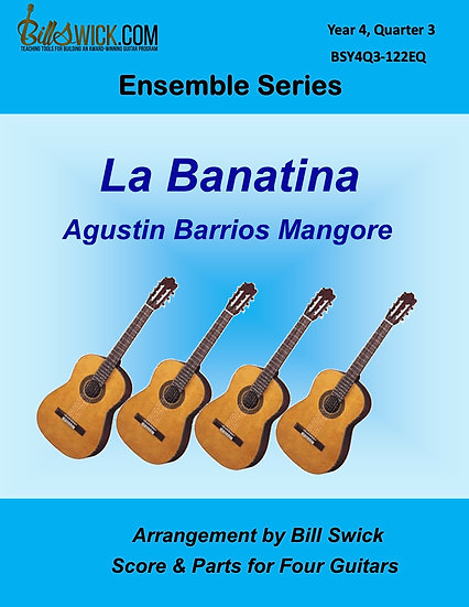 Advanced-La Bananita-Agustin Barrios Mangore