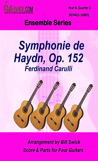 Symphonie de Haydn, Op 162-Carulli