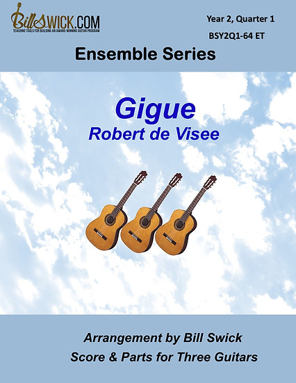 Intermediate-Gigue by Robert de Visee