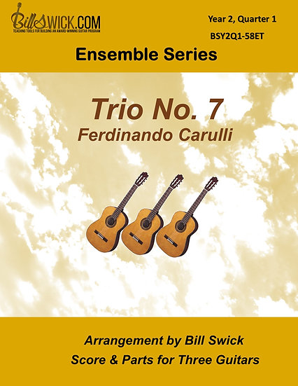 Intermediate-Trio No.7 by Ferdinando Carulli