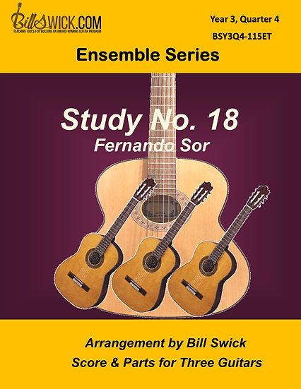 Advanced-Study No. 18 by Fernando Sor