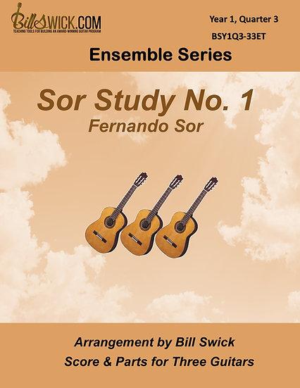 Easy-Sor Study No 1-Fernando Sor