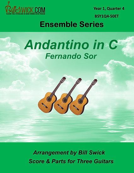 Easy-Andantino in C-Fernando Sor