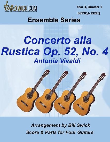 Advanced-Concerto alla Rustica Op 51, No 4
