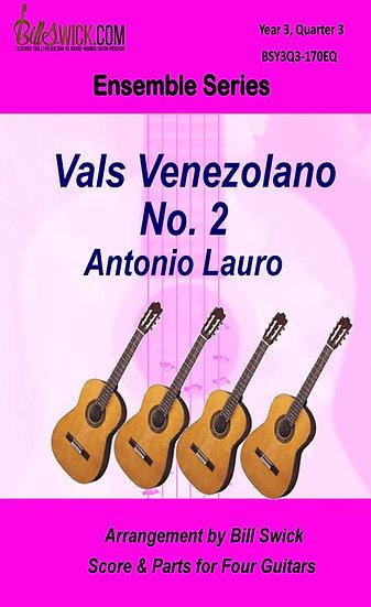 Vals Venezolano No. 2-Antonio Lauro