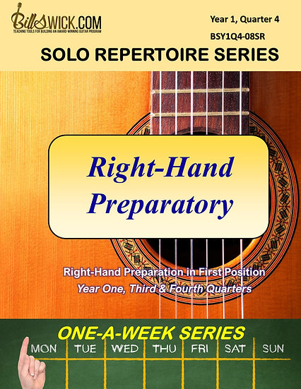 Solo Playing-Right-Hand Preparatory