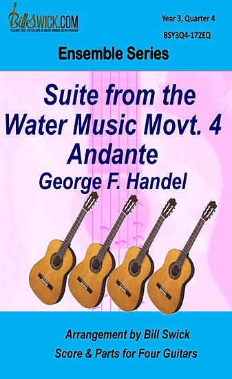 Suite from the Water Music, 4. Andante-G.F. Handel