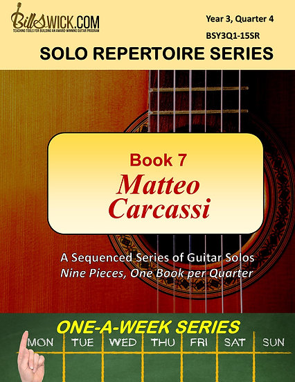 Solo Playing-Book Seven-Matteo Carcassi