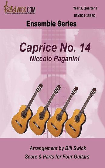 Caprice No. 14-Nicolo Paginini