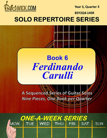 Solo Playing-Book Six-Ferdinando Carulli