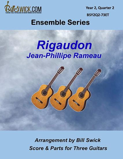 Intermediate-Rameau Rigaudon-Jean-Philippe Rameau