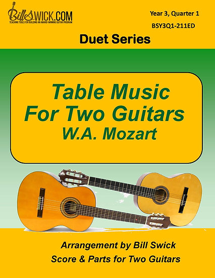 Table Music for Two Guitars