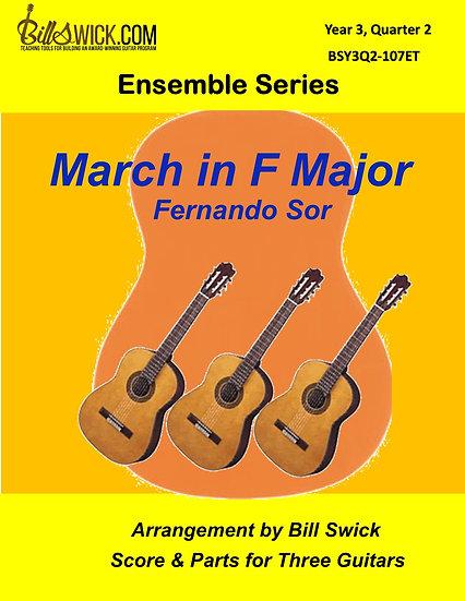 Advanced-March in F Major by Fernando Sor