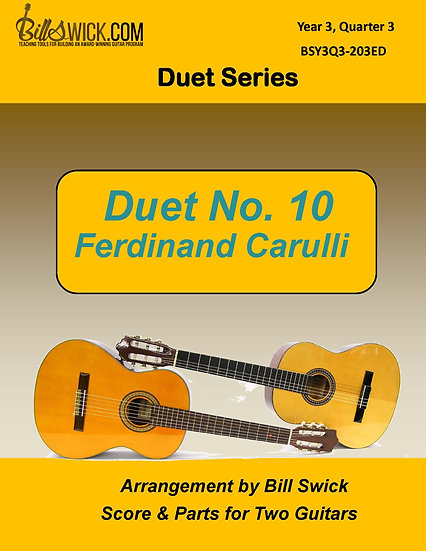 Duet No. 10-Ferdinand Carulli