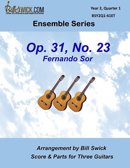 Intermediate-Op 31, No 23-Fernando Sor