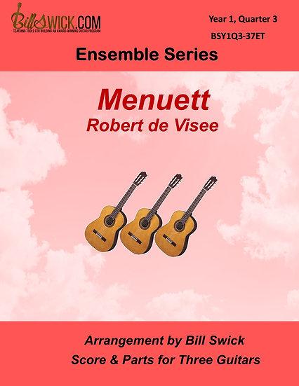 Easy-Menuett-Robert de Visee