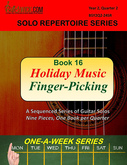Solo Playing-Holiday Music Finger-Picking Style