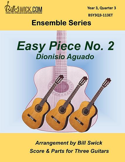 Advanced-Easy Piece No. 2, Op. 13-Dionisio Aguado