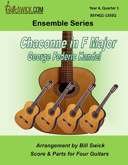 Advanced-Chaconne in F Major by George Federick Handel