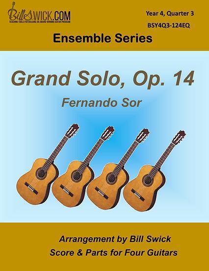 Advanced-Grand Solo, Op 14 by Fernando Sor
