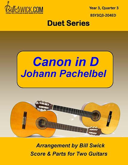 Canon in D-Johann Pachelbel