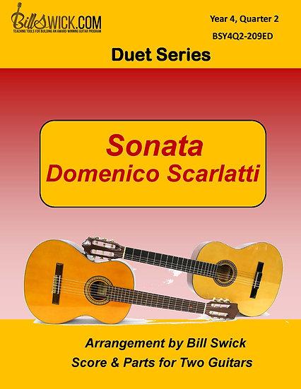 Sonata-Domenico Scarlatti